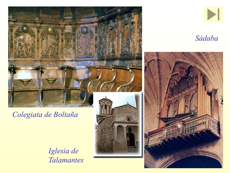 Colegiata de Boltaña Iglesia de Talamantes Sádaba