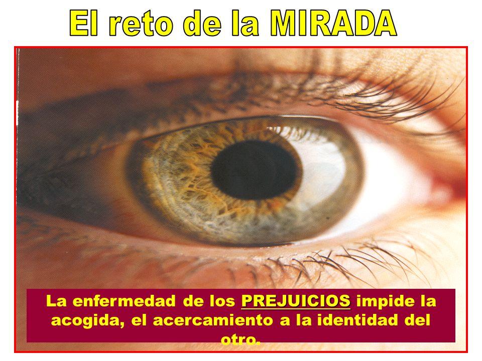 PREJUICIOS La enfermedad de los PREJUICIOS impide la acogida, el acercamiento a la identidad del otro. 20
