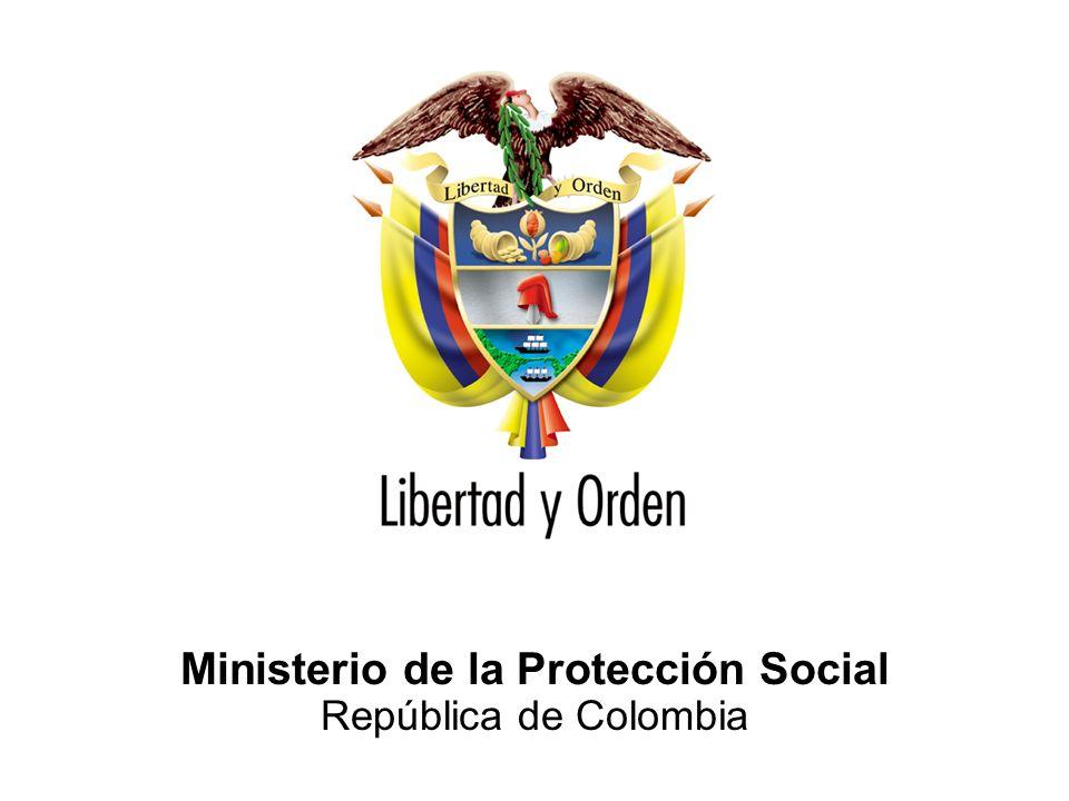 Ministerio de la Protección Social República de Colombia GRACIAS BIENVENIDOS GRACIAS BIENVENIDOS lchavez@minproteccionsocial.gov.co PLAN DE PREPARATIVOS Y ATENCIÓN DE LA PANDEMIA DE LA INFLUENZA