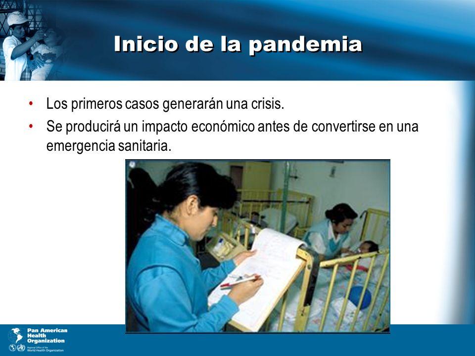 Inicio de la pandemia Los primeros casos generarán una crisis.