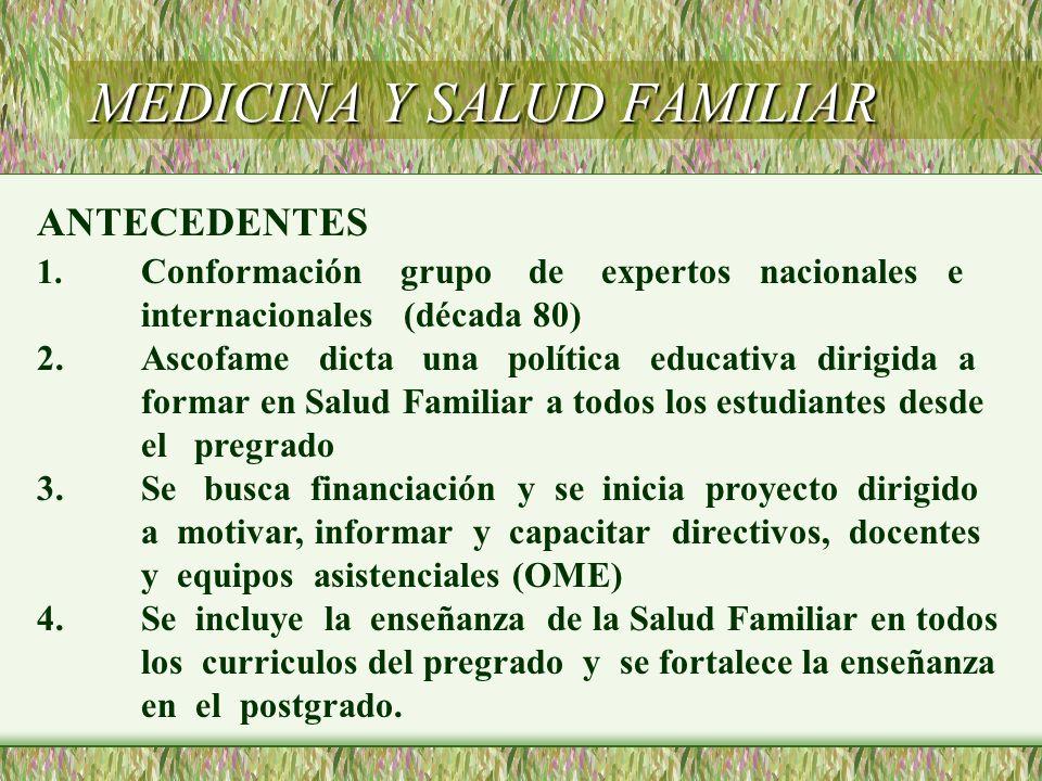 MEDICINA Y SALUD FAMILIAR 5.