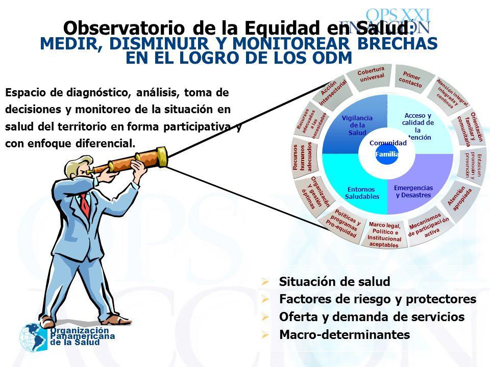 ´ Organización Panamericana de la Salud Espacio de diagnóstico, análisis, toma de decisiones y monitoreo de la situación en salud del territorio en forma participativa y con enfoque diferencial.