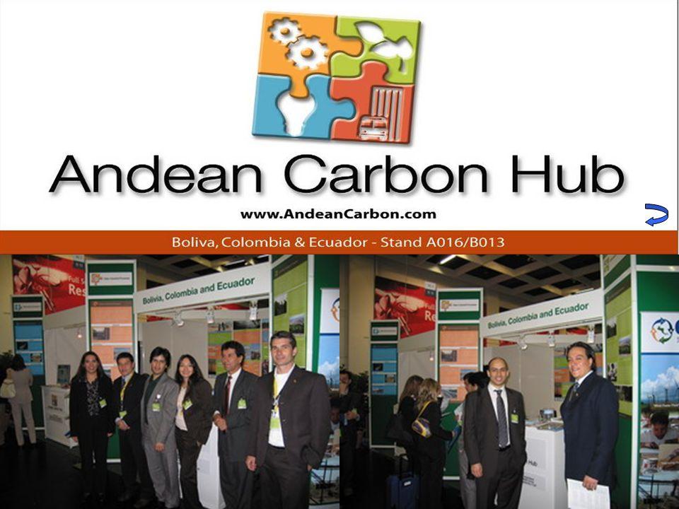 (5) Facilitación de ruedas de negocios y networking Networking y promoción del país Carbon Expo 2005Rueda de negocios MDL (Ecuador-Canadá) Septiembre 2005 e.g.