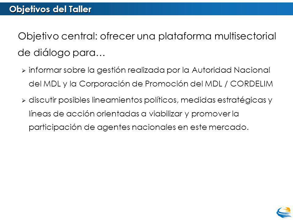 Objetivos específicos del Taller incluyen: 1.