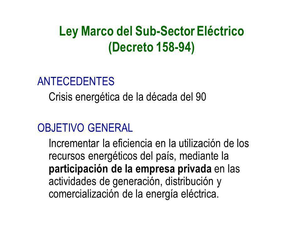 ANTECEDENTES Crisis energética de la década del 90 OBJETIVO GENERAL Incrementar la eficiencia en la utilización de los recursos energéticos del país,