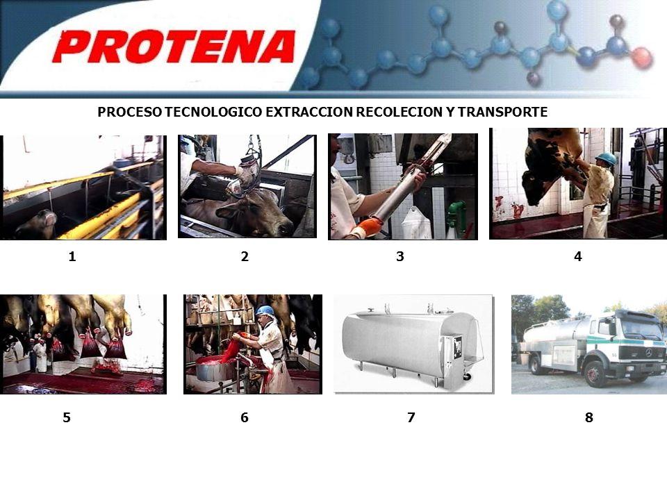 PROCESO TECNOLOGICO EXTRACCION RECOLECION Y TRANSPORTE 1234 5678