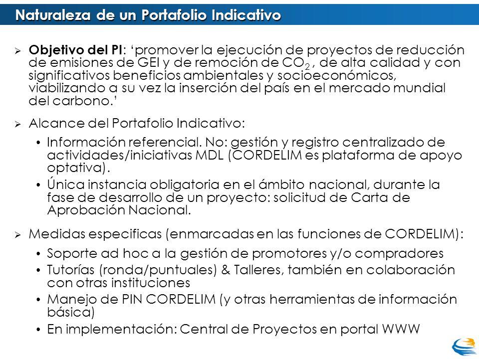 Lineamientos de gestión: Portafolio Indicativo Portafolio Prioritario