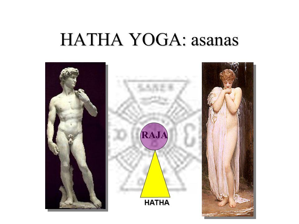 HATHA YOGA: asanas HATHA RAJA