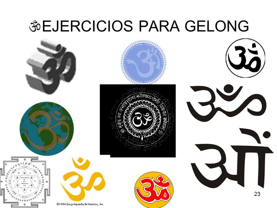 23 EJERCICIOS PARA GELONG