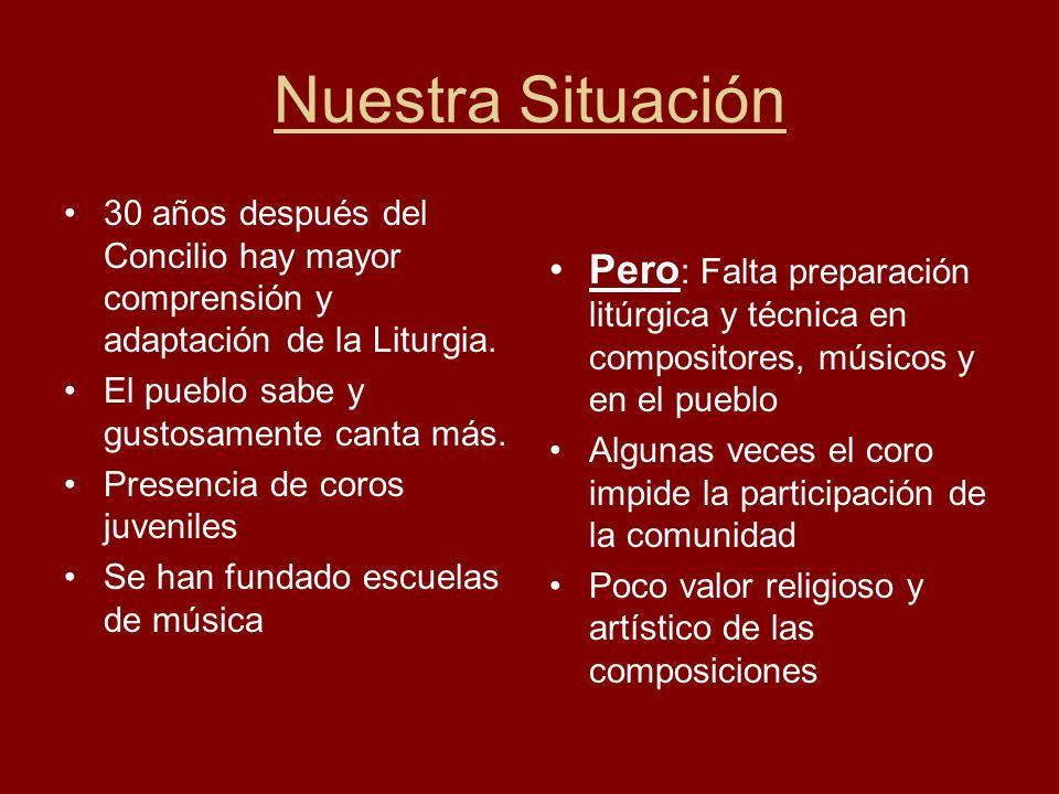 5.- Los cantorales Existe un grande número de cantorales, pero : Debemos distinguir de los cantos litúrgicos, alabanzas y canciones.