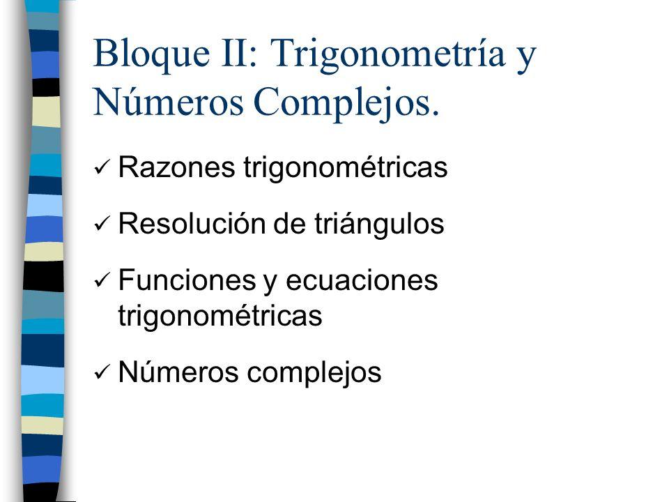 Razones trigonométricas: teorema del seno Ejercicio: Calcula los datos que faltan en el siguiente triángulo:
