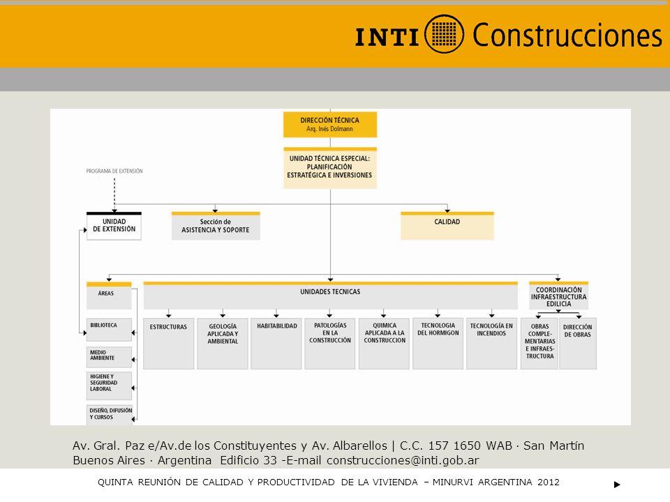 El Organismo de Certificación del INTI tiene como objetivo realizar toda la gestión para otorgar la certificación, con el objeto de brindar el aval del INTI como tercera parte independiente en lo referente al cumplimiento de normas y especificaciones técnicas; posibilitando así una diferenciación para dar confianza a usuarios y compradores.