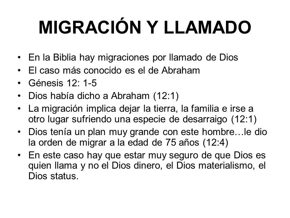 MIGRACIÓN Y LUCHA POR LA JUSTICIA Esto le pasa a nuestro Señor Jesucristo cuando era un bebé.