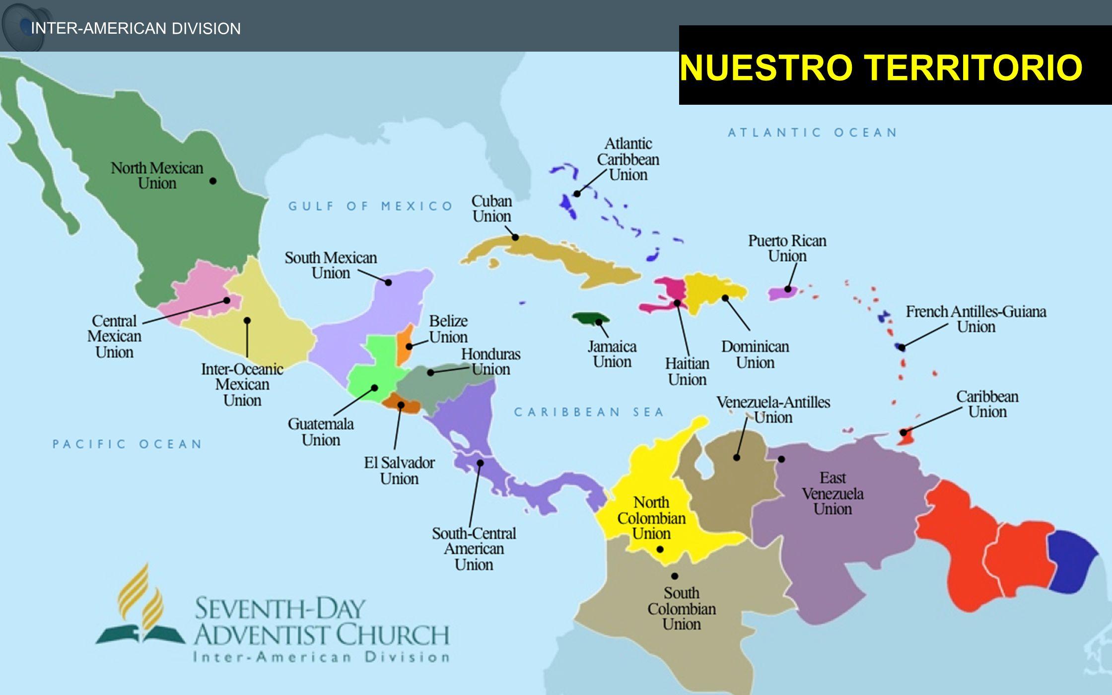 INTER-AMERICAN DIVISION NUESTRO TERRITORIO