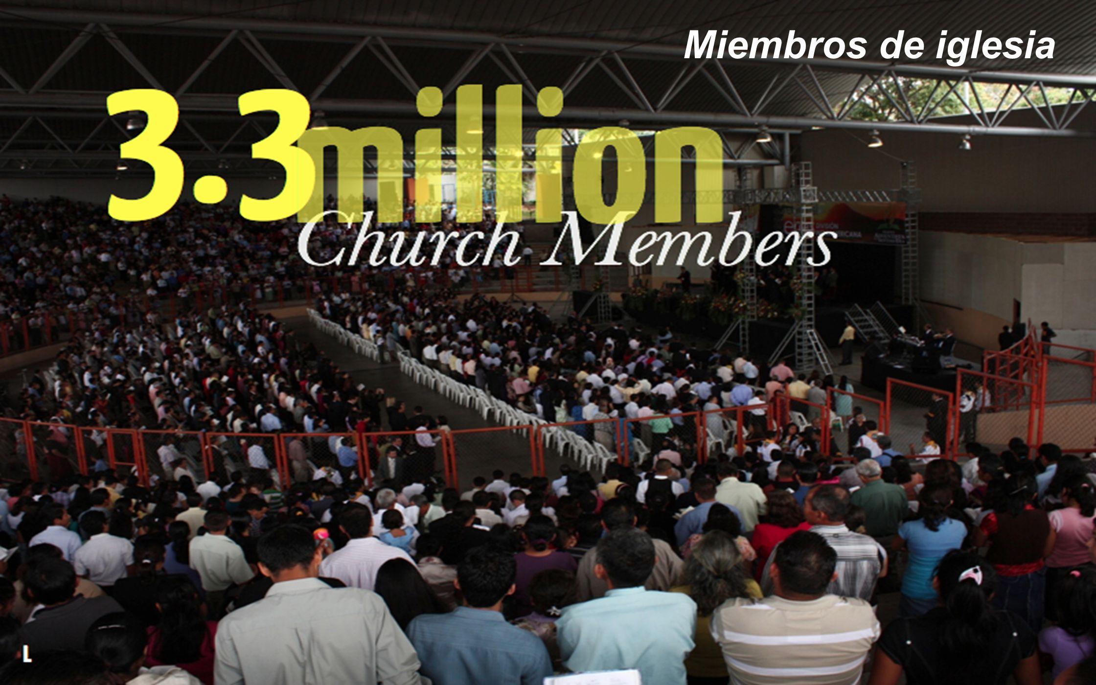 Miembros de iglesia