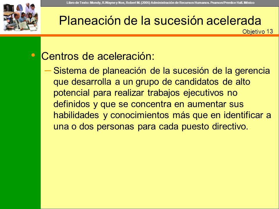 Libro de Texto: Mondy, R.Wayne y Noe, Robert M. (2005) Administración de Recursos Humanos. Pearson/Prentice Hall. México Planeación de la sucesión ace