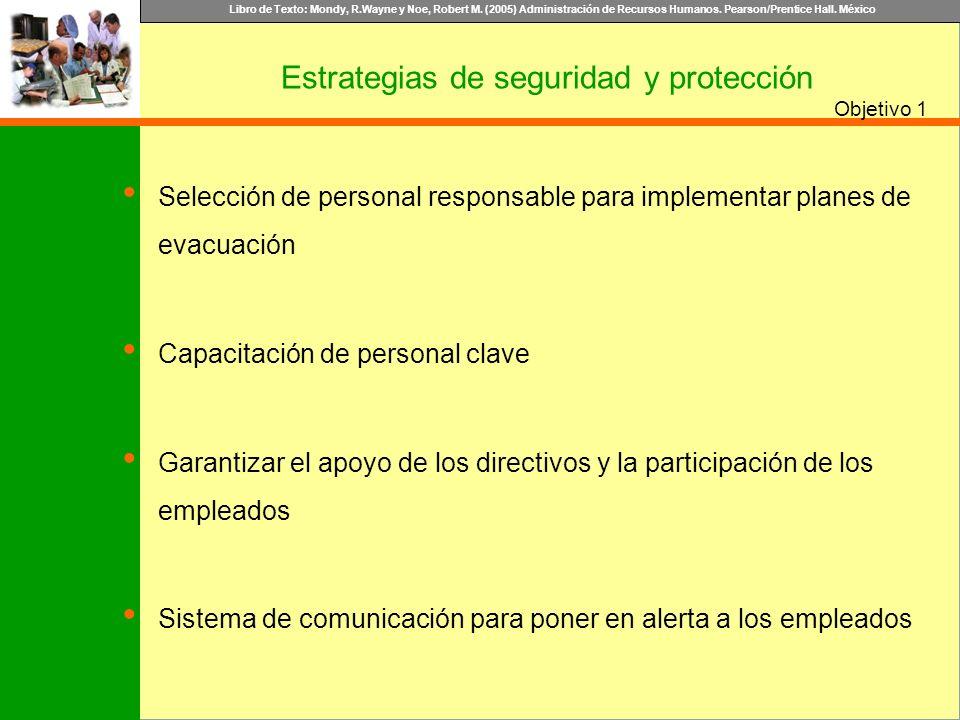 Libro de Texto: Mondy, R.Wayne y Noe, Robert M. (2005) Administración de Recursos Humanos. Pearson/Prentice Hall. México Objetivo Selección de persona