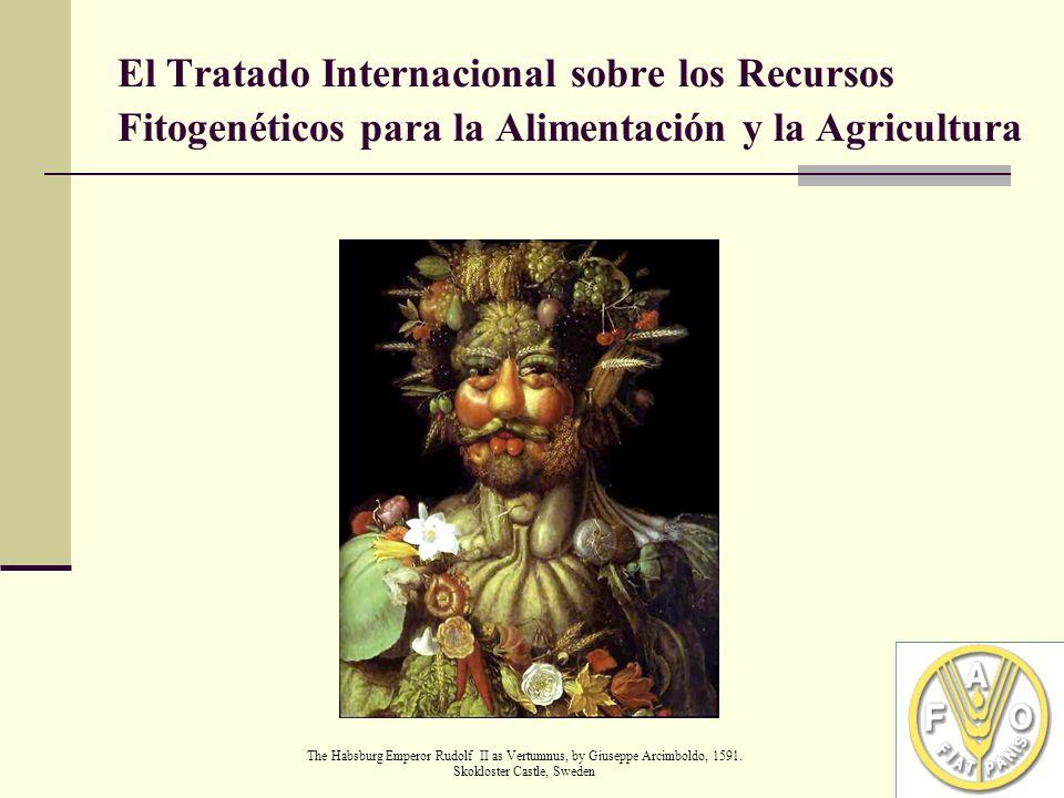 El Tratado Internacional sobre los Recursos Fitogenéticos para la Alimentación y la Agricultura The Habsburg Emperor Rudolf II as Vertumnus, by Giuseppe Arcimboldo, 1591.