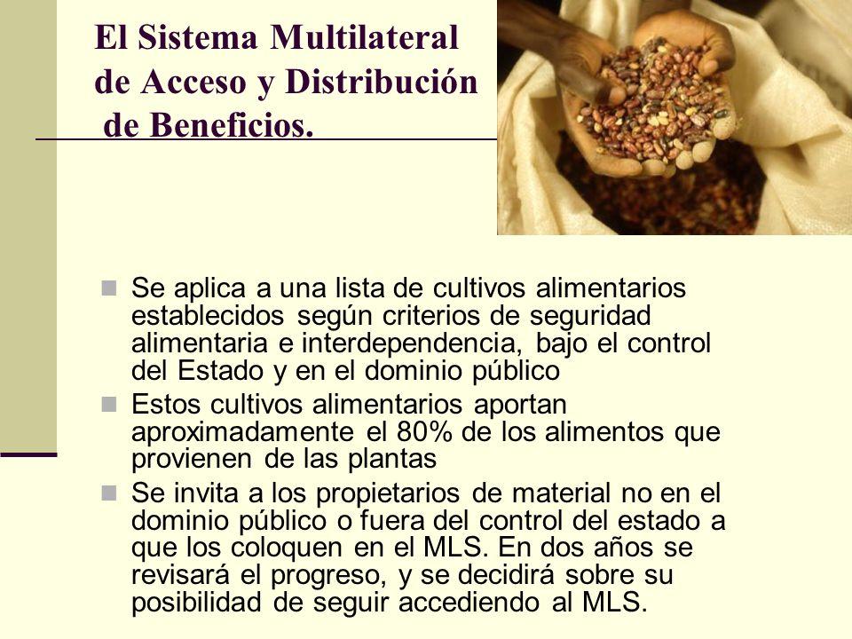 El Sistema Multilateral de Acceso y Distribución de Beneficios.