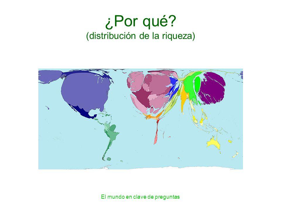 El mundo en clave de preguntas ¿Por qué? (distribución de la riqueza)