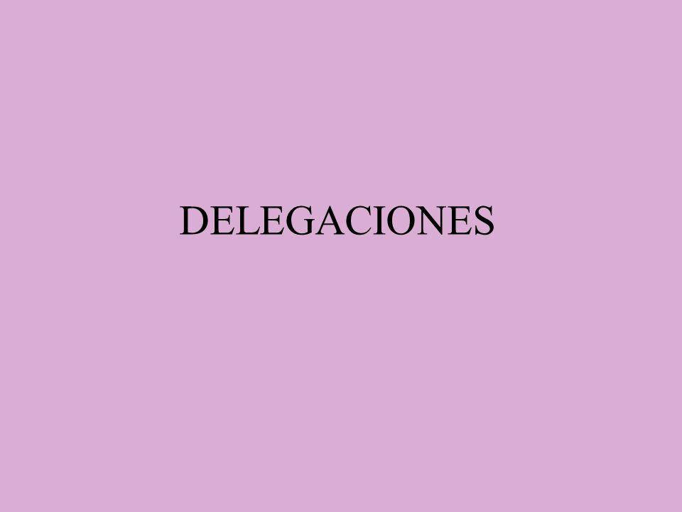 DELEGACIONES