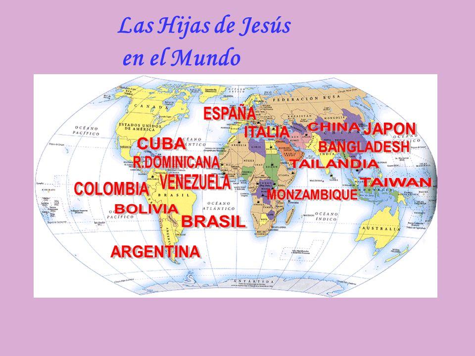 Las Hijas de Jesús en el Mundo