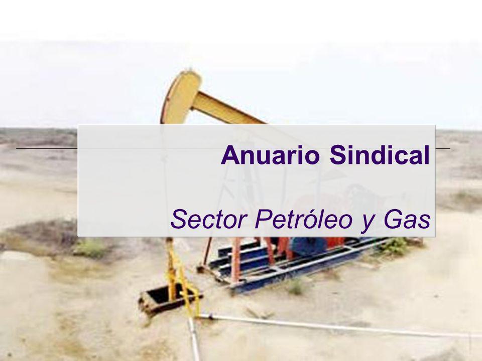 Anuario Sindical Sector Petróleo y Gas