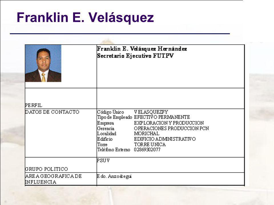 Franklin E. Velásquez