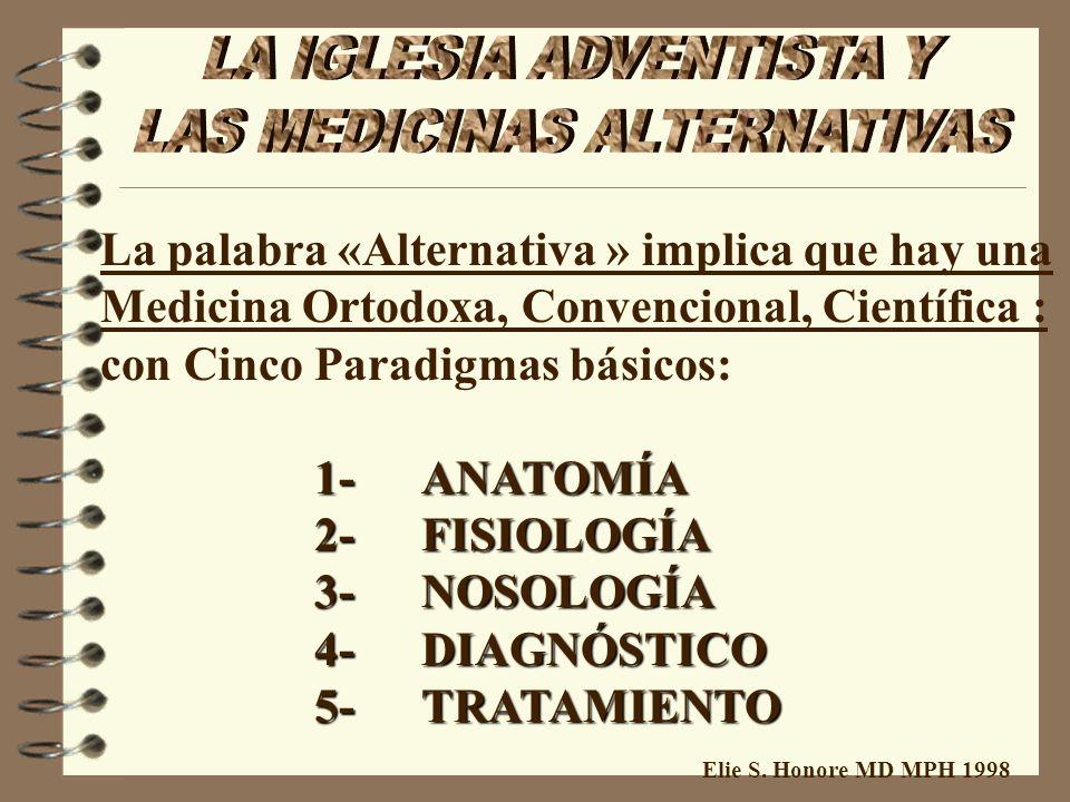 Elie S. Honore MD MPH 1998 4 Jerga cientifico (Alergia, energia, …) 4 Area de la Nutrición 4 Naturalismo 4 Médicos 4 Apoyo político 4 Humanismo 4 Prop