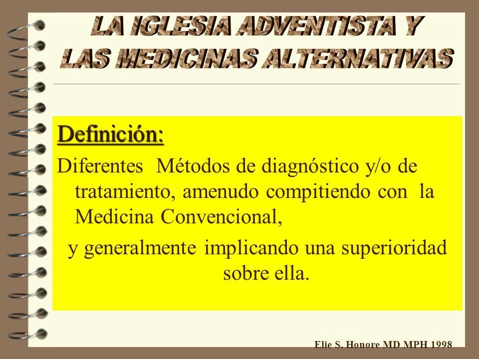 Elie S. Honore MD MPH 1998 = = ALTERNATIVA = En Vez de = Otra Opción 1- Utilisación Corecta: Métodos con igual valor ( 2antibioticos) 2 - Utilisación