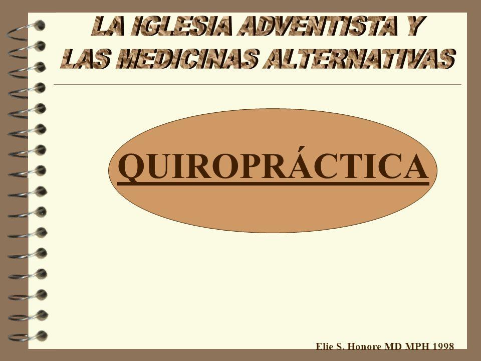 Elie S. Honore MD MPH 1998 ACUPUNCTURA: 1- Método terapeutico non comprobado 2- Teorias primitivas non-científicas 3- Investigaciones por 20 años non