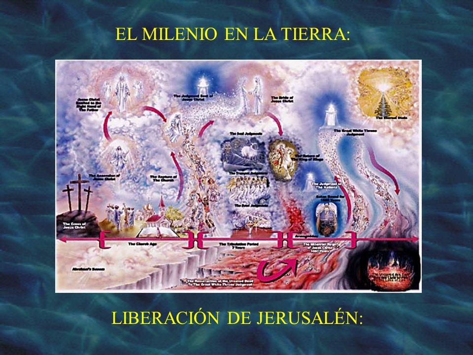 EL MILENIO EN LA TIERRA: LIBERACIÓN DE JERUSALÉN: