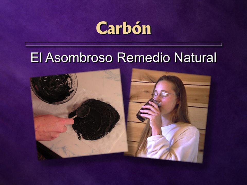 Carbón El Asombroso Remedio Natural