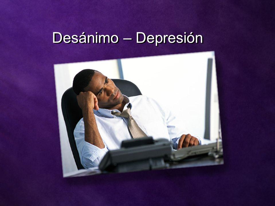 Desánimo – Depresión
