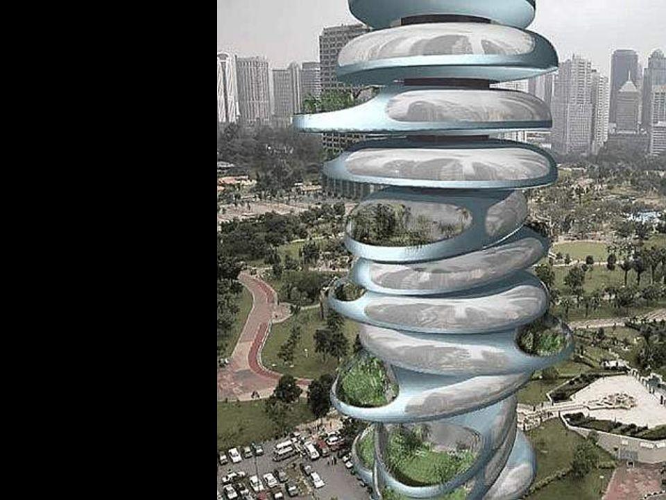 La torre contará con sistemas de generación electrica mediante energía solar y eólica y se prevee que sea autosuficiente.