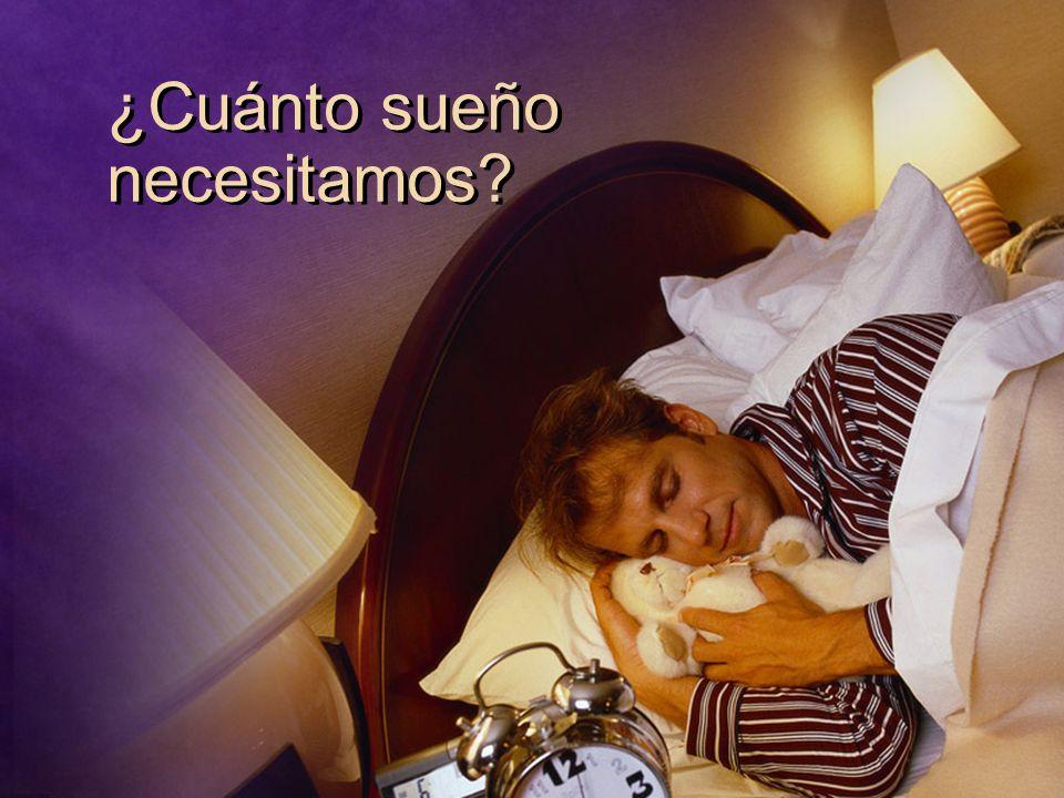 ¿Cuánto sueño necesitamos?