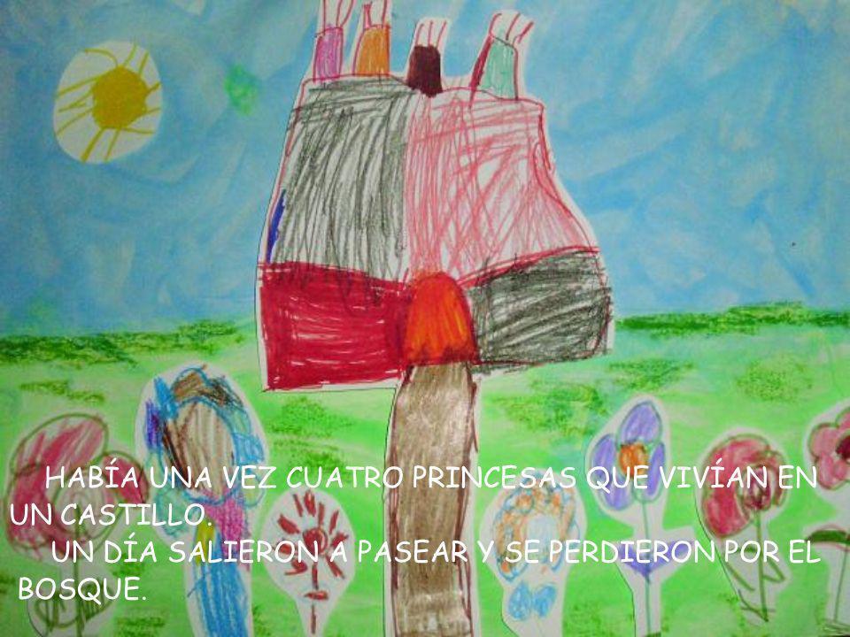LAS PRINCESAS MUY CONTENTAS, PARA DARLES LAS GRA- CIAS, INVITARON A TODOS A UN BAILE EN EL PALACIO.