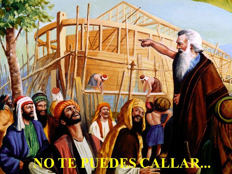 NO TE PUEDES CALLAR...