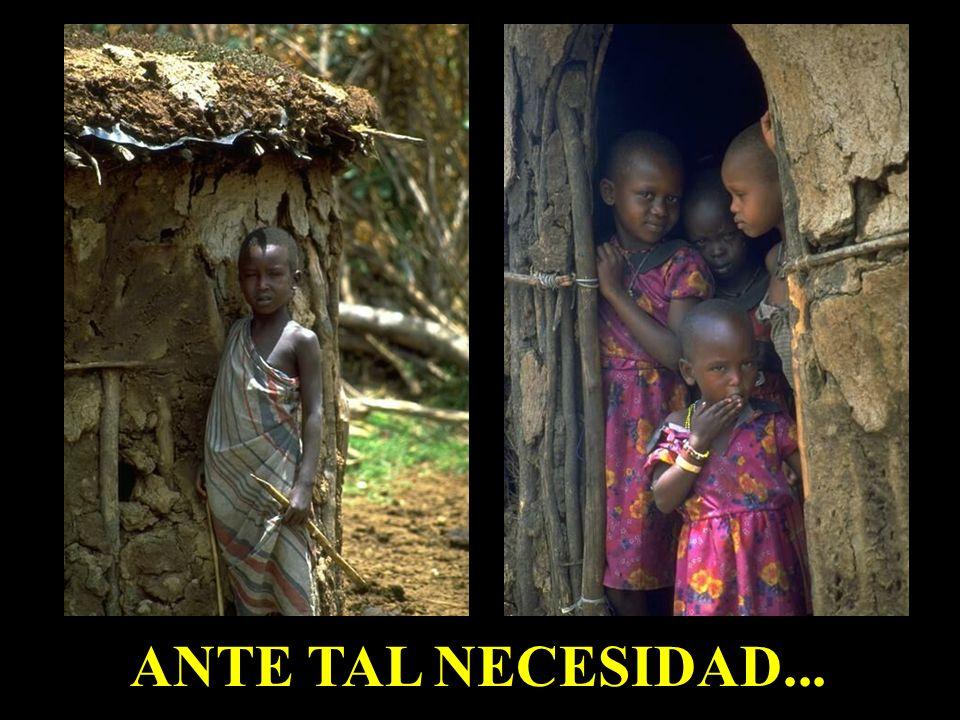 ANTE TAL NECESIDAD...