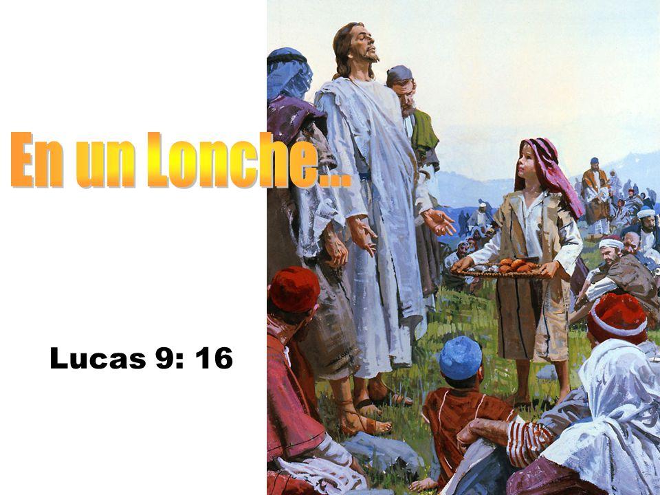 Lucas 9: 16