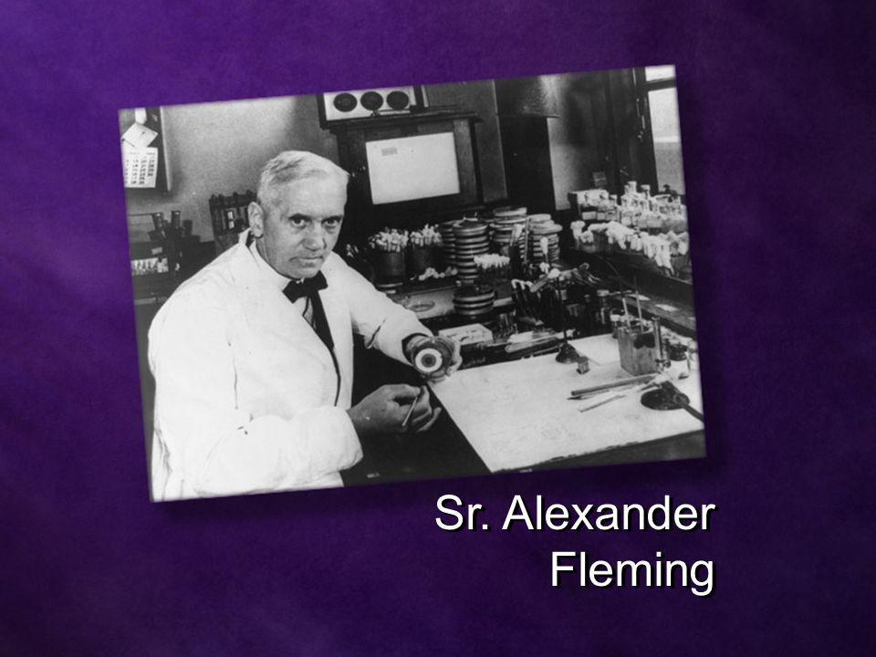 Sr. Alexander Fleming