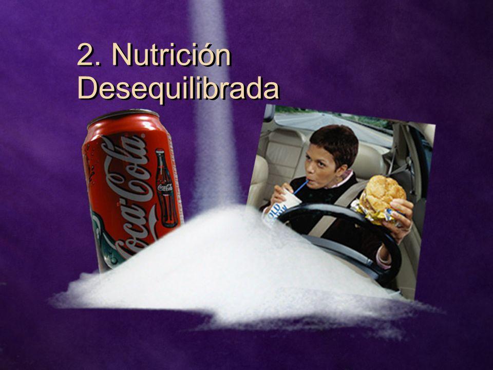 2. Nutrición Desequilibrada