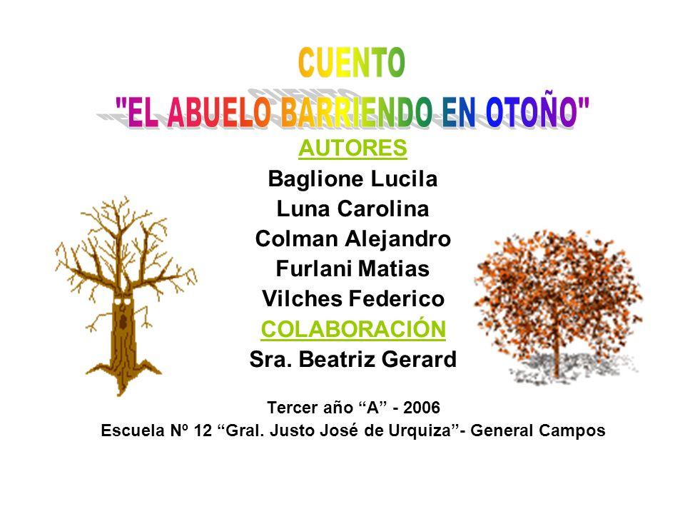 AUTORES Baglione Lucila Luna Carolina Colman Alejandro Furlani Matias Vilches Federico COLABORACIÓN Sra.
