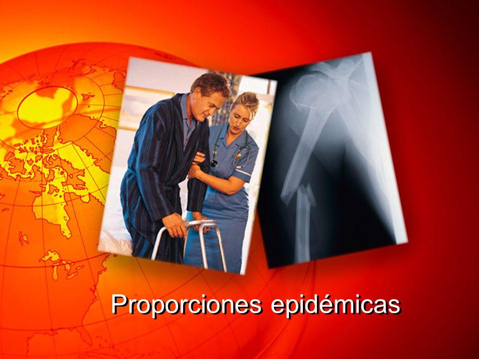 Proporciones epidémicas