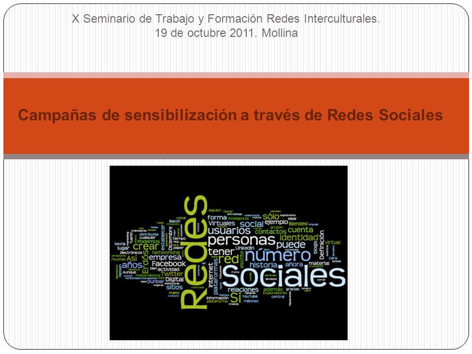 X Seminario de Trabajo y Formación Redes Interculturales.