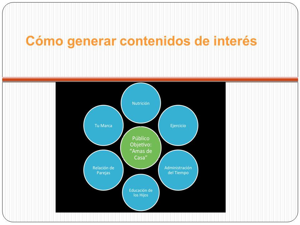 Cómo generar contenidos de interés