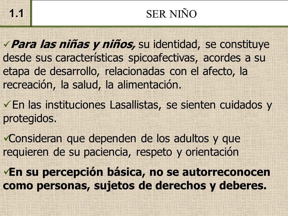 EL SIGNIFICADO DE LOS DERECHOS DE NIÑEZ Y JUVENTUD.