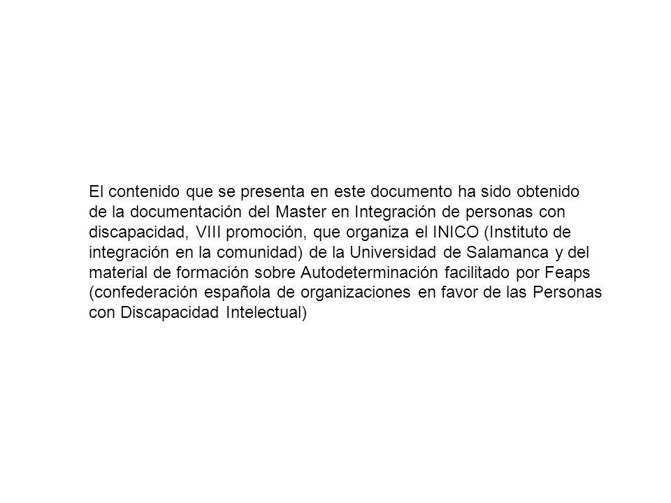 AUTODETERMINACIÓN EN PERSONAS CON SÍNDROME DE DOWN Ester Navallas Echarte