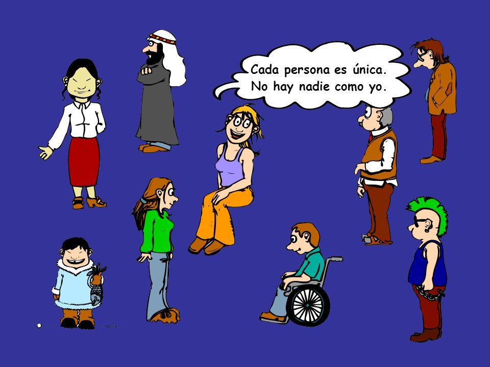 Todas las personas tenemos los mismos derechos