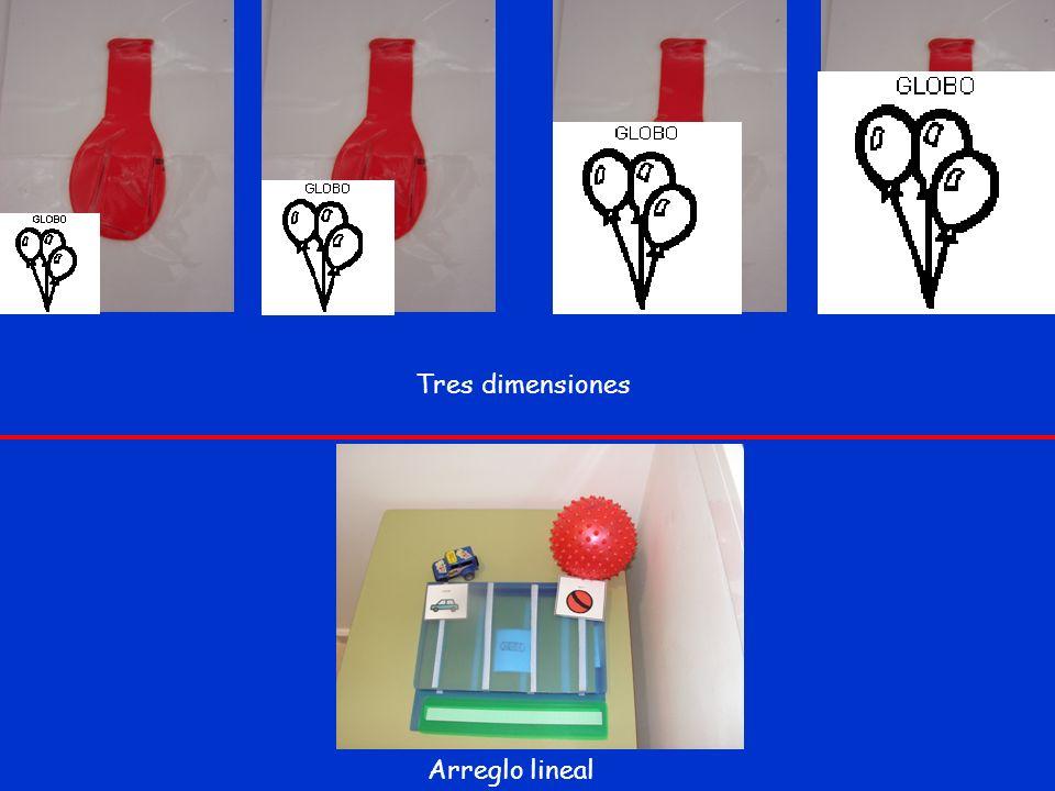Tres dimensiones Arreglo lineal